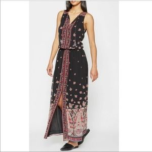 Joie Phanette bohemian maxi dress size small.